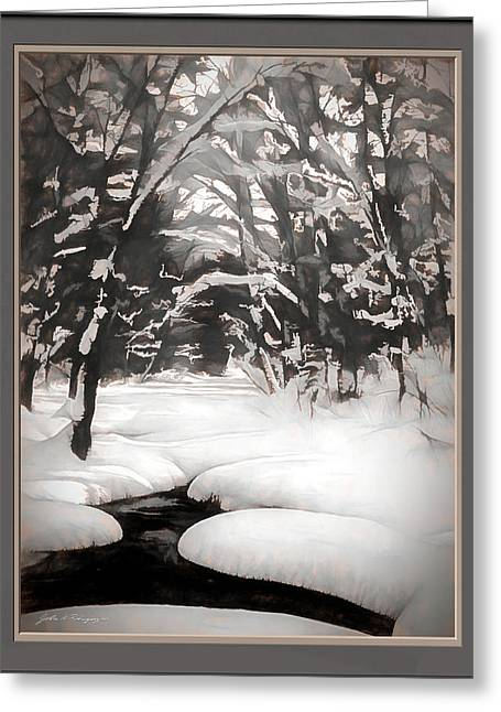 Warmth Of A Winter Day Greeting Card