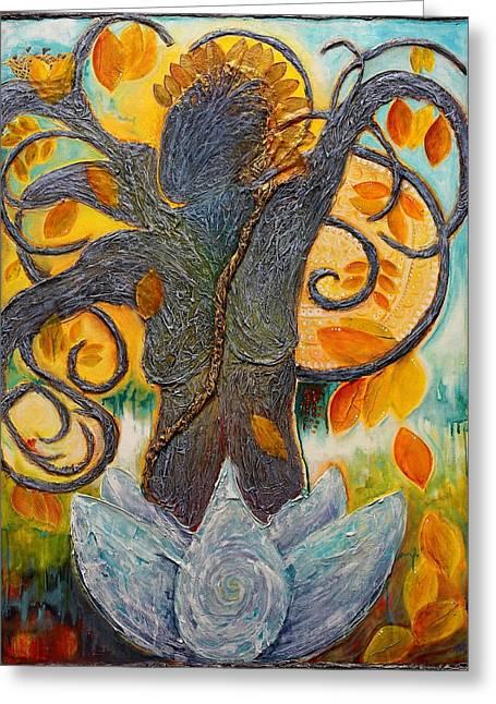 Warrior Bodhisattva Greeting Card