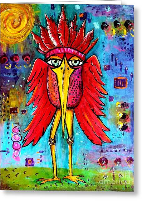 Warrior Spirit Greeting Card