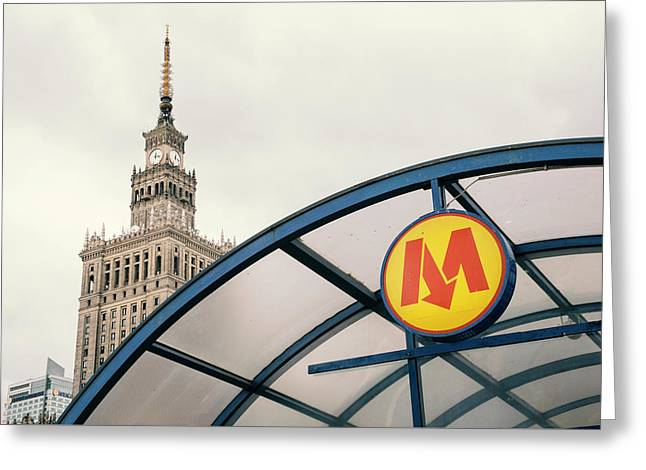 Warsaw Greeting Card by Chevy Fleet