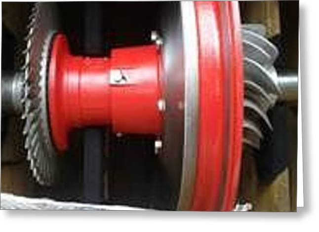 Wartsila Spare Parts Greeting Card by Marine Engine