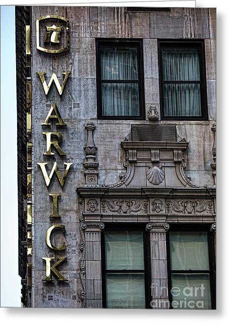 Warwick Hotel Nyc II Greeting Card