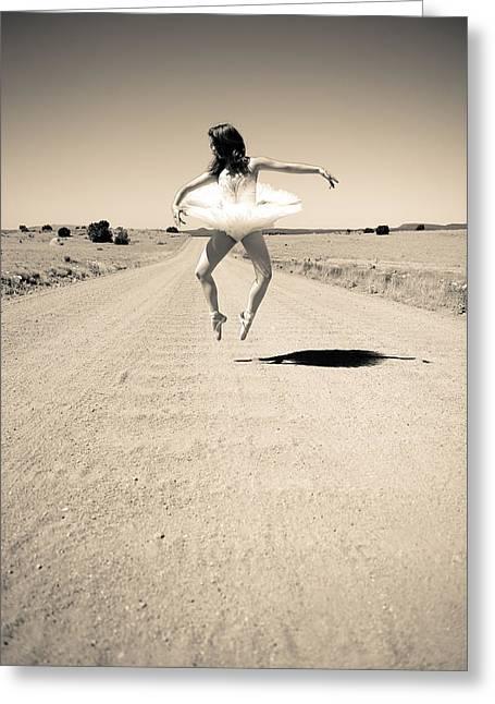 Washboard Ballet Greeting Card