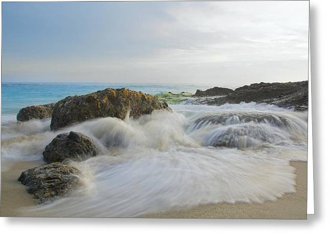 On The Rocks Greeting Card by Adam West