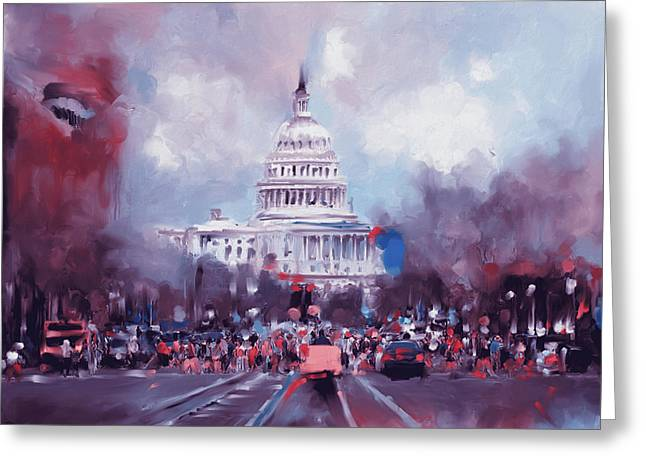 Washington 478 II Greeting Card