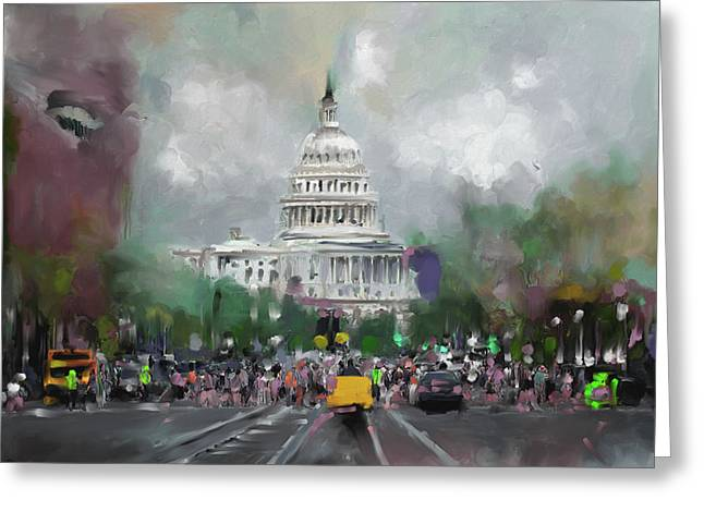 Washington 478 Iv Greeting Card