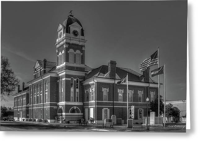 Washington County Courthouse 2 Art Greeting Card by Reid Callaway