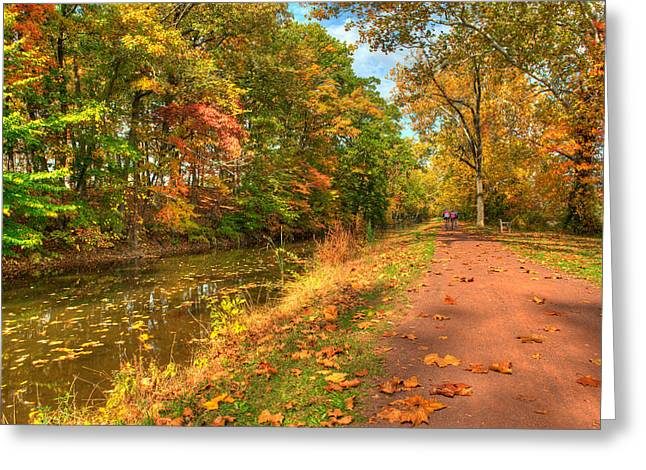 Washington Crossing Park Greeting Card
