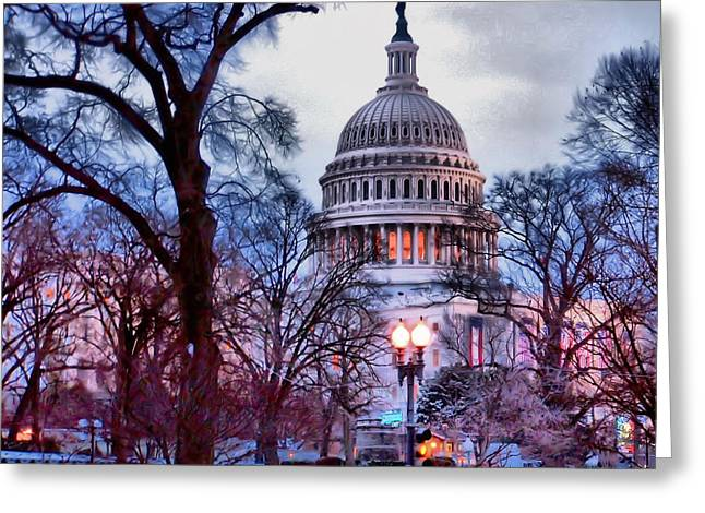 Washington D.c. One Greeting Card