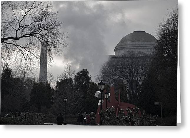 Washington Landmarks Greeting Card by Robert Ulmer