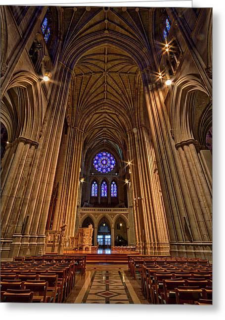 Washington National Cathedral Crossing Greeting Card