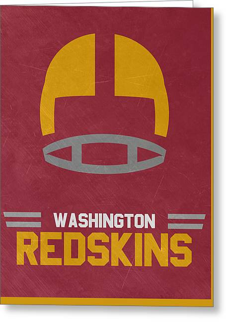 Washington Redskins Vintage Art Greeting Card