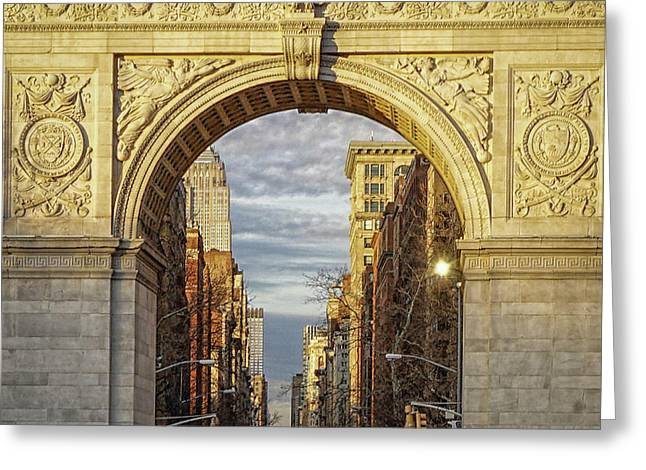 Washington Square Golden Arch Greeting Card