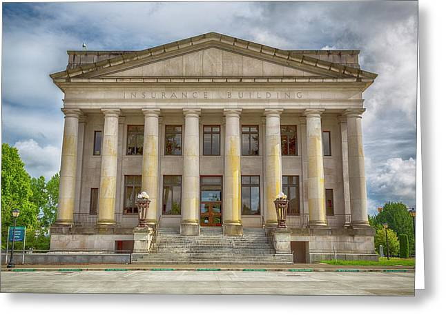 Washington State Insurance Building - Olympia Greeting Card by Stephen Stookey