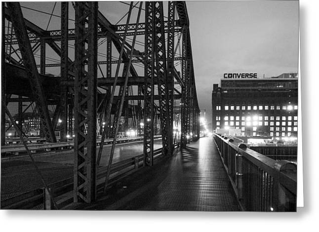 Washington Street Bridge Greeting Card