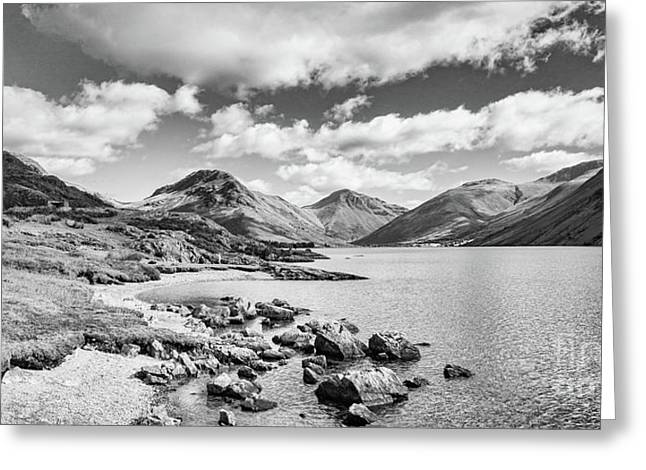 Wastwater And Wasdale Greeting Card by Colin and Linda McKie