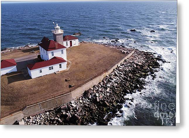 Watch Hill Lighhouse Greeting Card