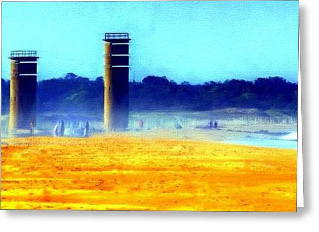 Watch Tower Greeting Card by Joe Campbell