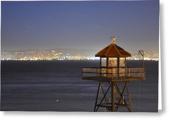 Watch Tower Of The West Greeting Card by Greg McDonald