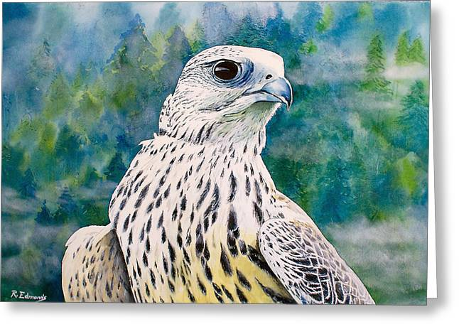 Watchful Eye Greeting Card by Raymond Edmonds