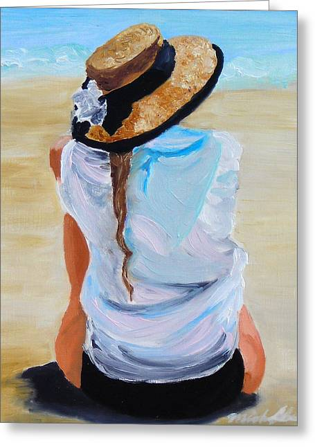 Recently Sold -  - Wife Greeting Cards - Watching A generation Greeting Card by Michael Lee