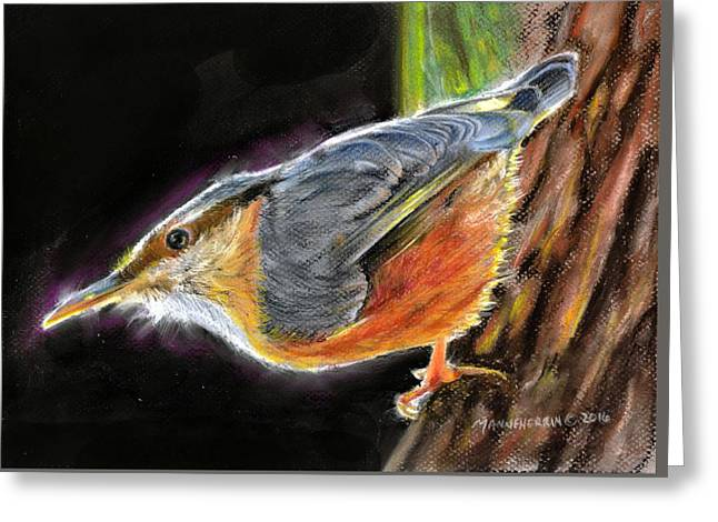 Watching For Spring Greeting Card