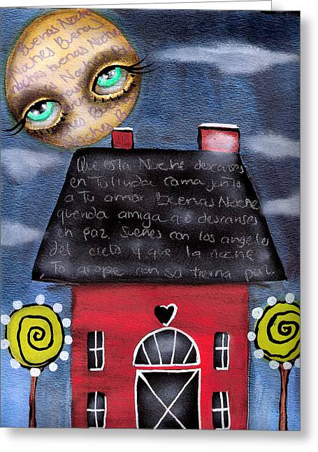 Watching Over You Greeting Card