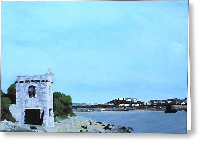 Watchtower Bay Greeting Card