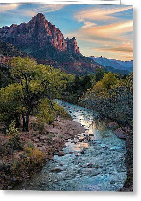 Watchtower Sunset - Www.thomasschoeller.photography Greeting Card by Thomas Schoeller