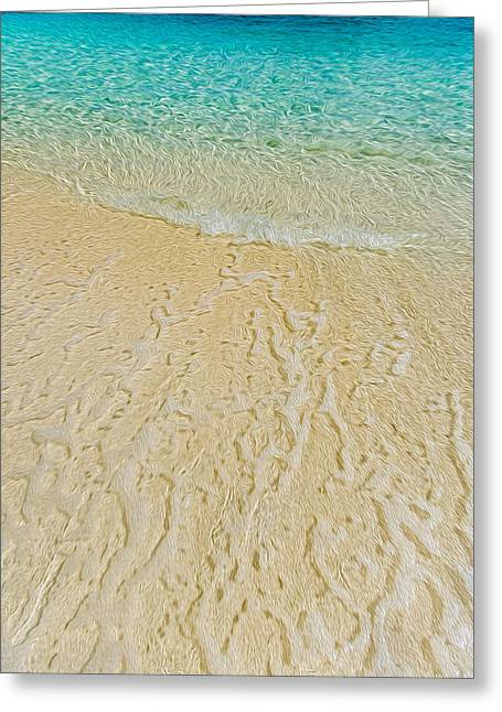 Water Abstract 1 Greeting Card