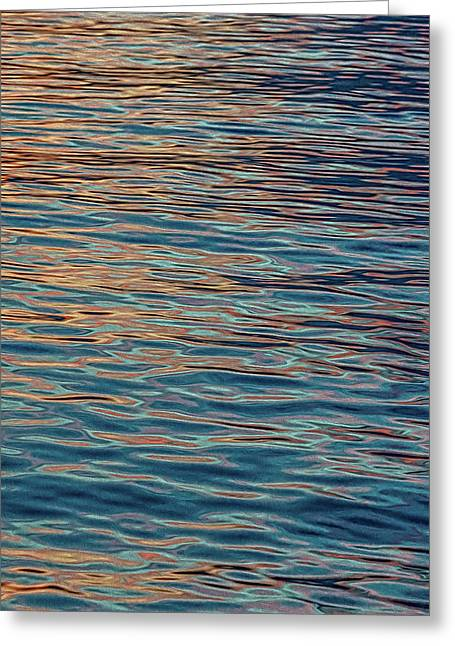 Water Abstract 2 Greeting Card