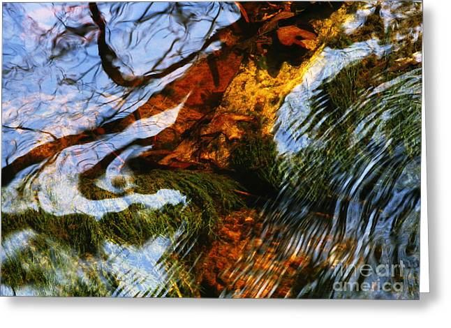 Water Abstract 24 Greeting Card