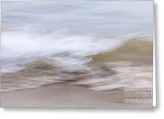Water And Sand Abstract 2 Greeting Card