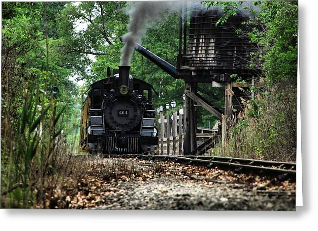 Water And Steam Greeting Card by Scott Hovind