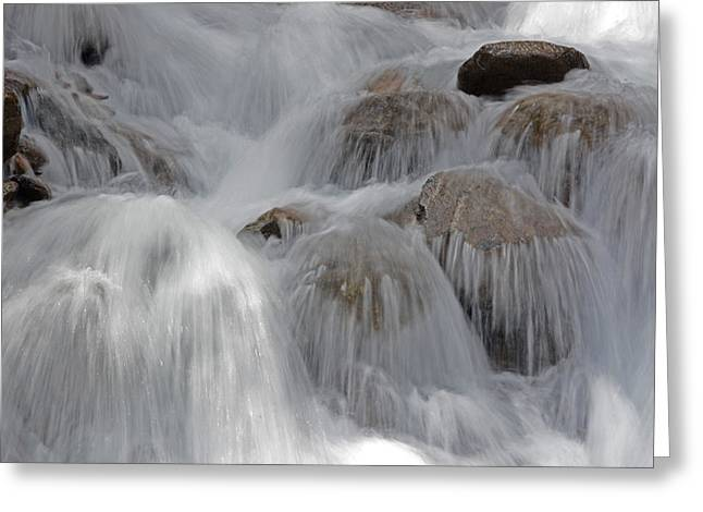 Water And Stone- Dance Of The Elements Greeting Card
