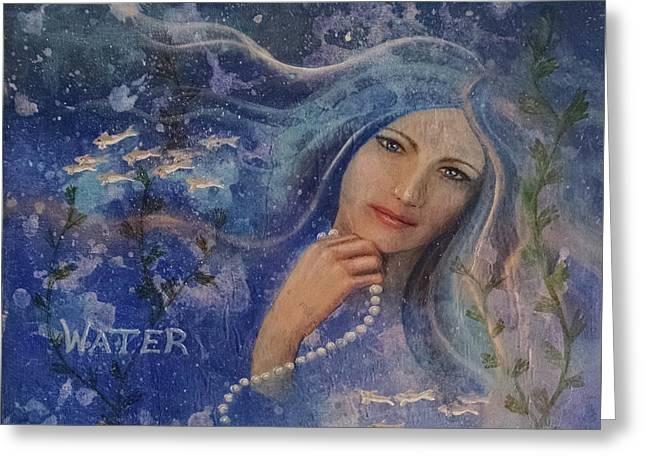 Water Greeting Card