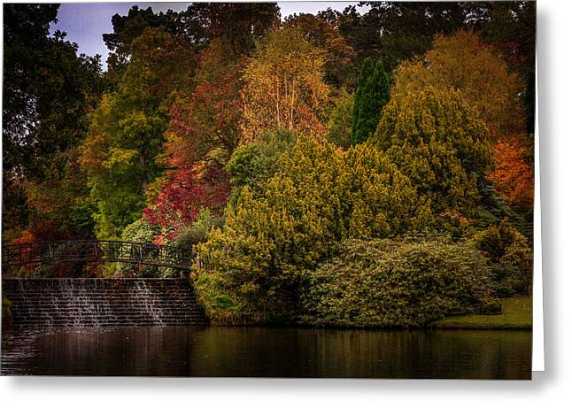 Greeting Card featuring the photograph Water Cascade by Ryan Photography