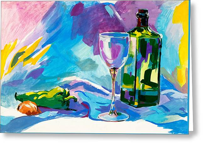 Water Color Painting By Ivailo Nikolov Greeting Card by Boyan Dimitrov