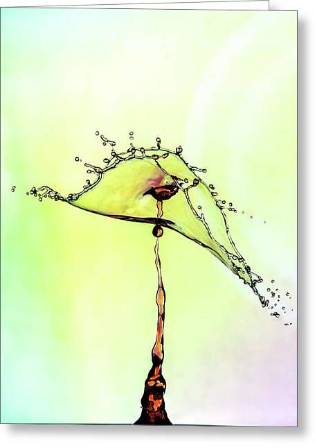 Water Drop #7 Greeting Card