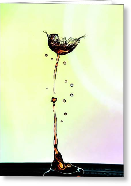 Water Drop #9 Greeting Card