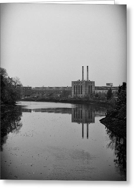 Water Factory Greeting Card