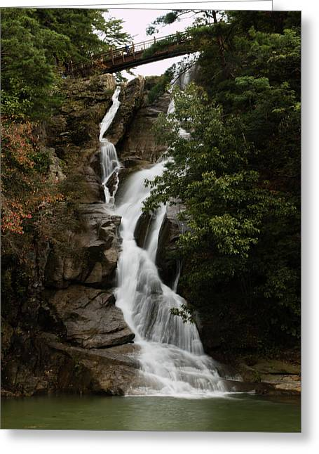 Water Fall 3 Greeting Card