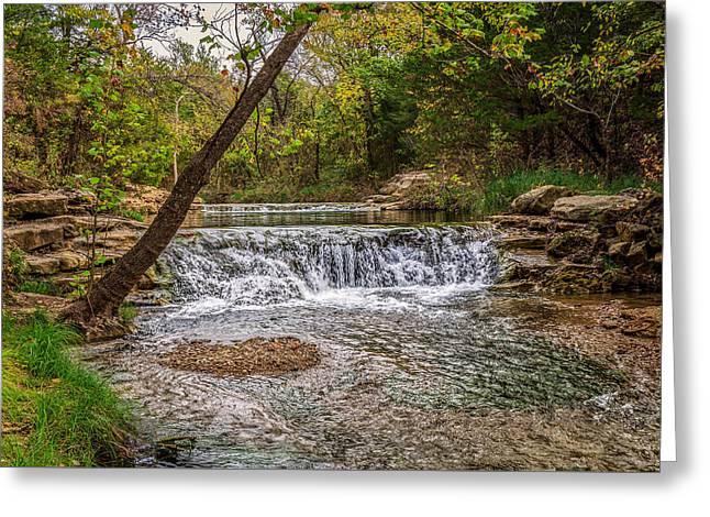 Water Fall Greeting Card by Doug Long