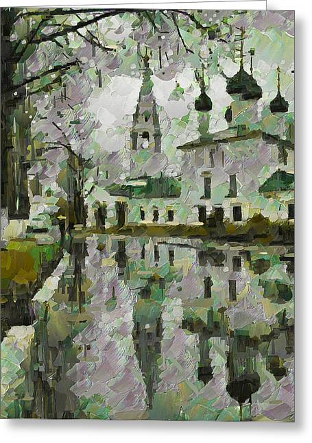 Enjoying Greeting Cards - Water Mirrors Greeting Card by Yury Malkov