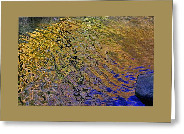 Water Reflections 9 Greeting Card