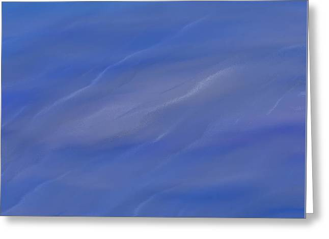 Water Ripples Greeting Card by Dan Sproul