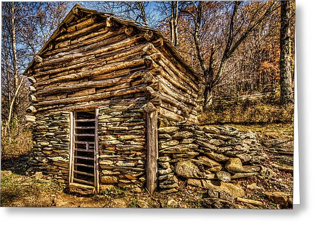 Water Shed Greeting Card