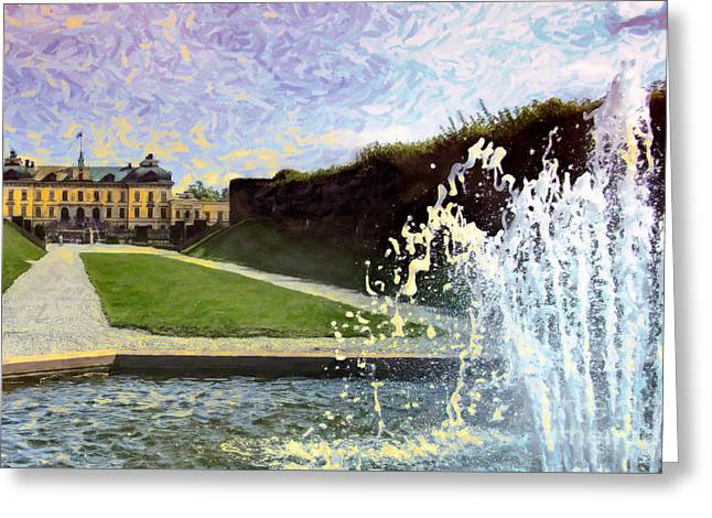 Water Sounds Greeting Card by GabeZ Art
