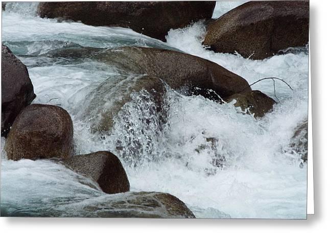 Water Spirits II Greeting Card