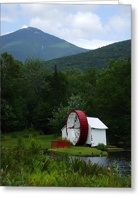 Water Wheel  Greeting Card by John Prestipino